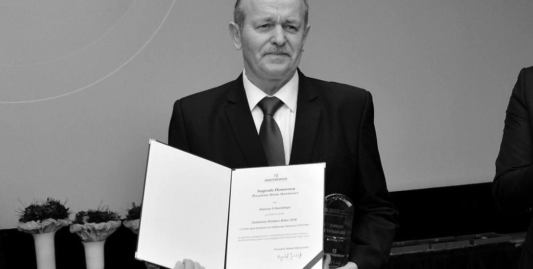 Odszedł wybitny skierniewicki działacz sportowy - Janusz Urbański