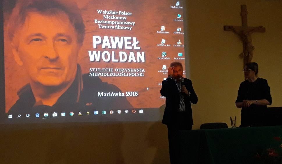 Film do artykułu: Reżyser Paweł Woldan opowiadał na spotkaniu w Mariówce o swoich filmach i pracy