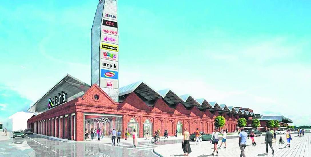 Przez rok będą budować Tkalnię. Tak będzie wyglądać największe pabianickie centrum handlowe