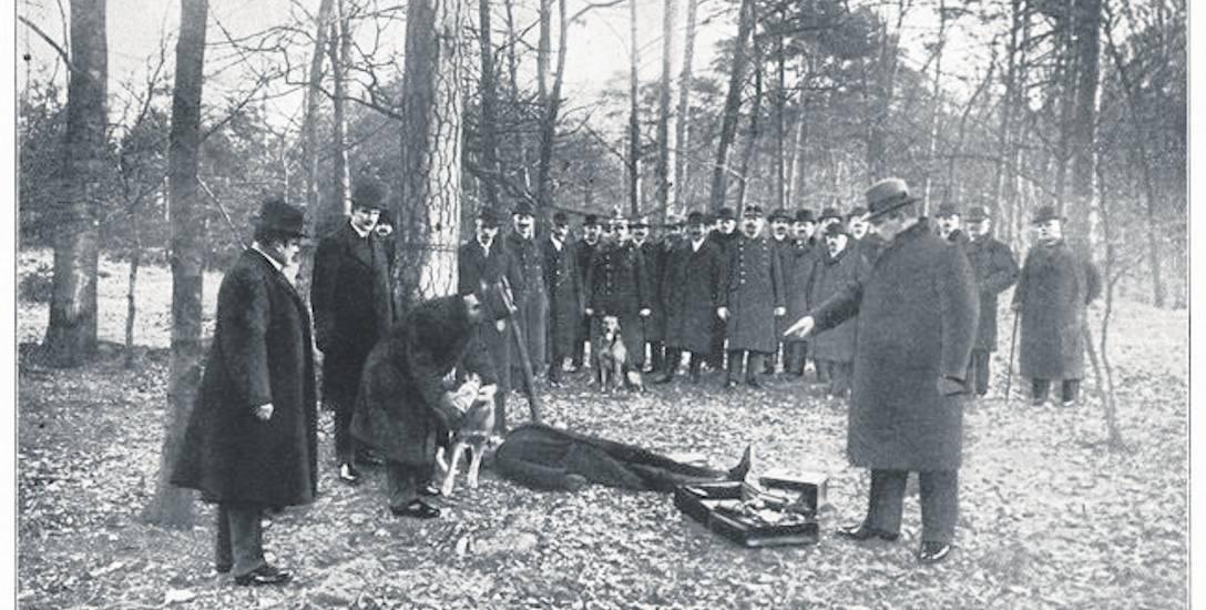 Oględziny zwłok, ćwiczenia przedwojennej policji w Breslau