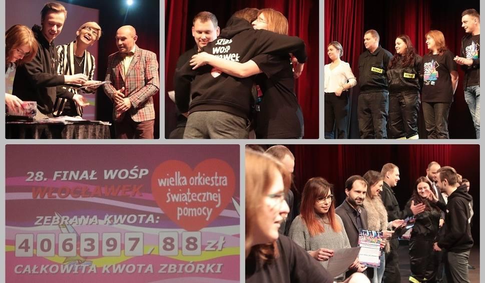 Film do artykułu: Jest rekord WOŚP we Włocławku! Podczas 28. finału zebrano ponad 406 tys. złotych [zdjęcia, wideo]