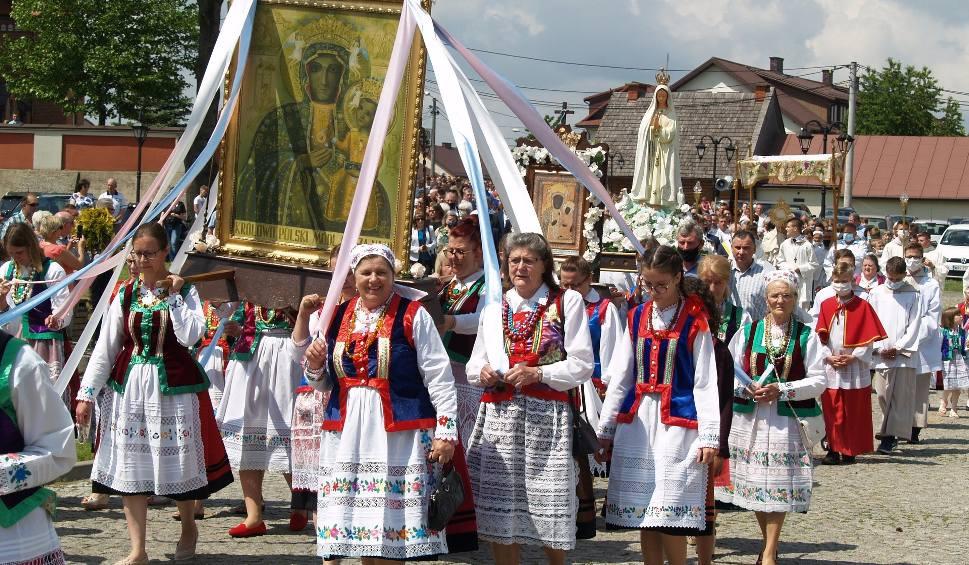 Film do artykułu: Boże Ciało w Myszyńcu. Procesja 11.06.2020. Zdjęcia i wideo