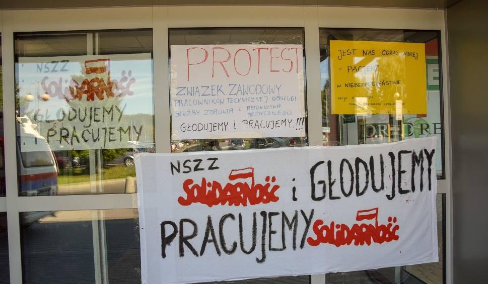 Film do artykułu: 17. dzień protestu głodowego pielęgniarek i położnych w Wojewódzkim Szpitalu w Przemyślu. Rozpoczęła się druga głodówka [WIDEO, ZDJĘCIA]