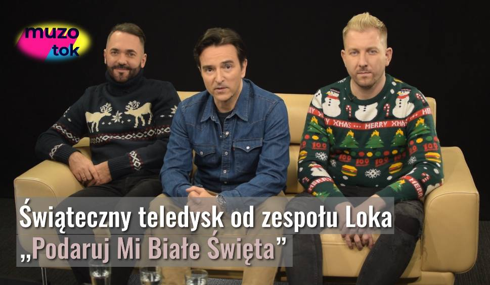 """Film do artykułu: Loka: """"Laf, Laf, Laf (podaruj mi białe Święta)"""" to nowy klip. Grzegorz Porowski, Kamil Mikuła, Michał Bagiński jak Muppet Show [WYWIAD]"""