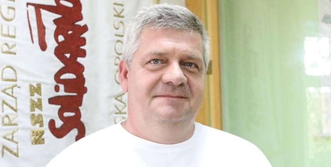 Grzegorz Adamczyk, NSZZ Solidarność.