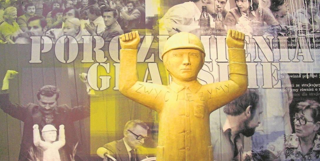 Nie byłoby 4 czerwca 1989 r., gdyby nie Sierpień  1980 r. (zdjęcie archiwalne zrobione w Sali BHP Stoczni Gdańskiej w 2010 r.)