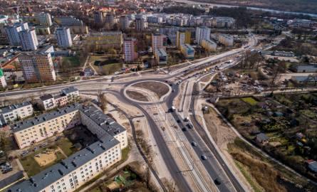 Plac Chrapka i rondo Pokoju Toruńskiego z drona. Zobacz zdjęcia!