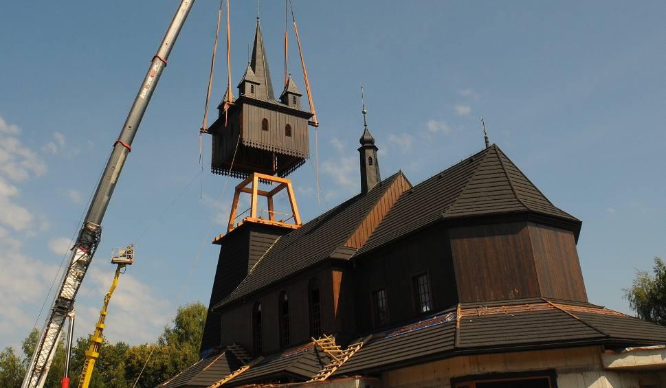 Film do artykułu: Kościół na Woli Justowskiej ma już nowy hełm na wieży