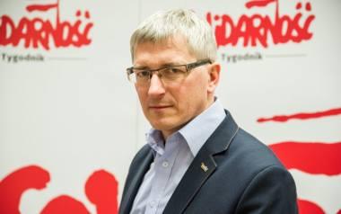 """Przede wszystkim nadal nie został zrealizowany postulat emerytur stażowych mówi Marek Lewandowski, rzecznik KK NSZZ """"Solidarność"""""""