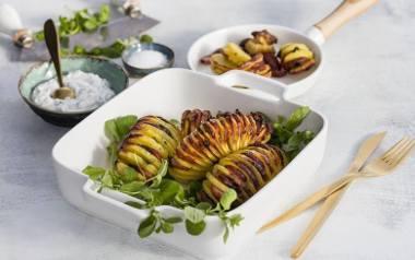 Słynny szwedzki klasyk: ziemniaki a'la Hasselback.