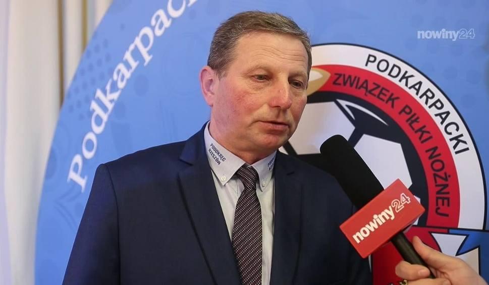 Film do artykułu: Tadeusz Świgoń, prezes Watkem Korony Bendiks Rzeszów: Zdobyliśmy tylko 6 punktów. Ambicje mamy większe, chcemy się utrzymać