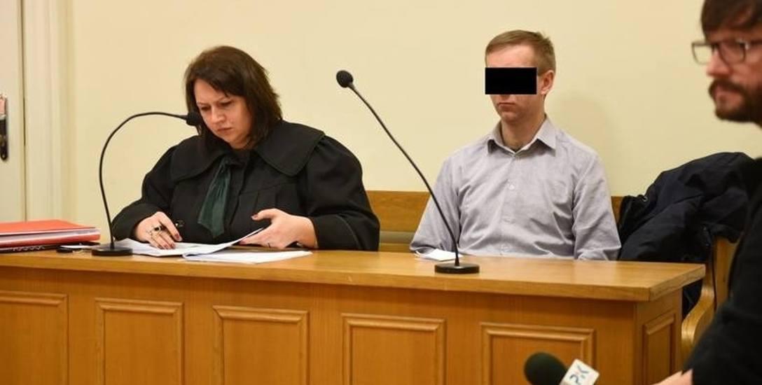 Od lewej: adwokat Agnieszka Czypek-Żychlińska, broniąca Krzysztofa G. i prokurator Katarzyna Balcerzak.