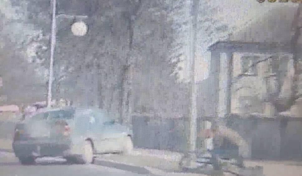 Film do artykułu: Secemin: Potrąciła rowerzystę. Na oczach policjantów