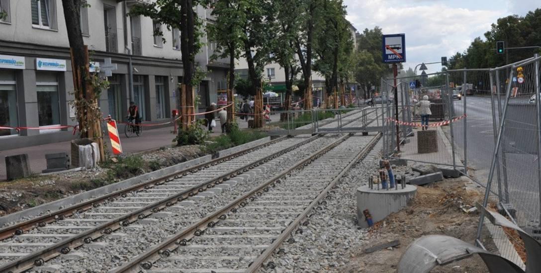 Przebudowa linii tramwajowej w Częstochowie