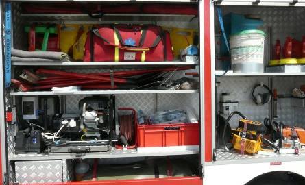 Śmiertelny pożar koło Brzezin. Nie żyją dwie osoby