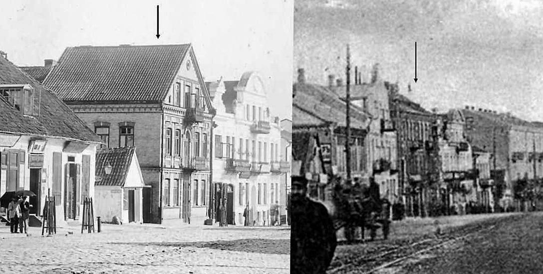 Dom na rogu ul. Mikołajewskiej i Sofijskiej wzniósł na przełomie 1896 i 1897 r. Chaim Elbaum (fot. po lewej). Na początku XX w. jego miejsce zajął trzypiętrowy