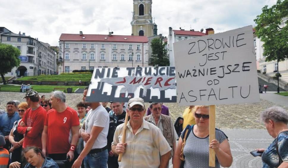 Film do artykułu: Prezydent Przemyśla nie wydał zgody na powstanie w tym mieście wytwórni mas bitumicznych