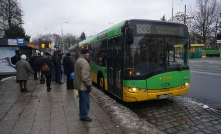 Zima także w miejskich autobusach