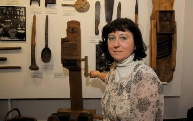 Krystyna Reinfuss-Janusz, starszy kustorz Muzeum Etnograficznego  Krakowie.