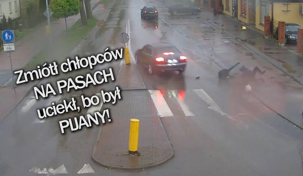 Film do artykułu: INFO Z POLSKI | Pijany kierowca potrącił chłopców i uciekł oraz ogólnopolski strajk rolników