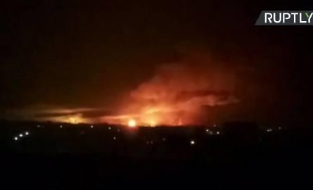 Ukraina: Seria eksplozji w wojskowym składzie amunicji w mieście Bałaklija