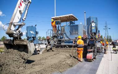 Budowa układu drogowego w Porcie Gdańsk