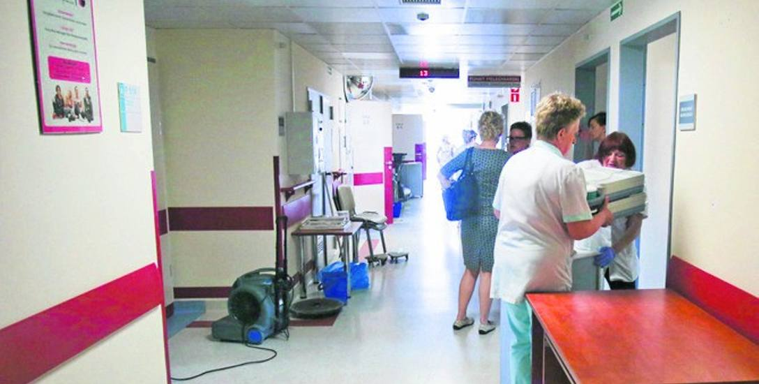 Przenosiny na piątym piętrze słupskiego szpitala