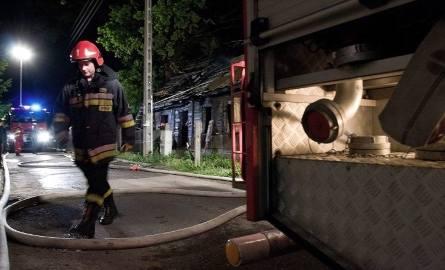 Straż pożarna szybko ugasiła pustostan