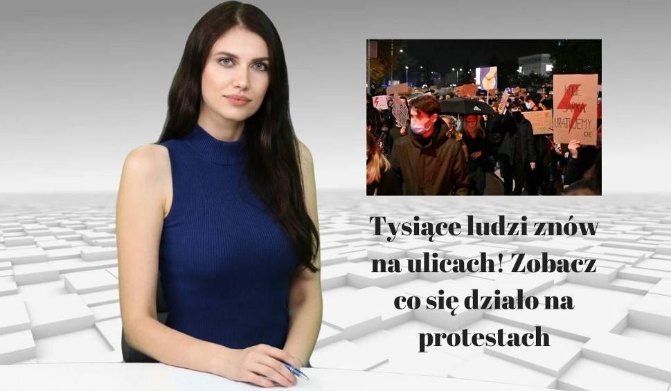 Film do artykułu: WIADOMOŚCI ECHA DNIA. Tysiące ludzi znów na ulicach! Zobacz co się działo na protestach