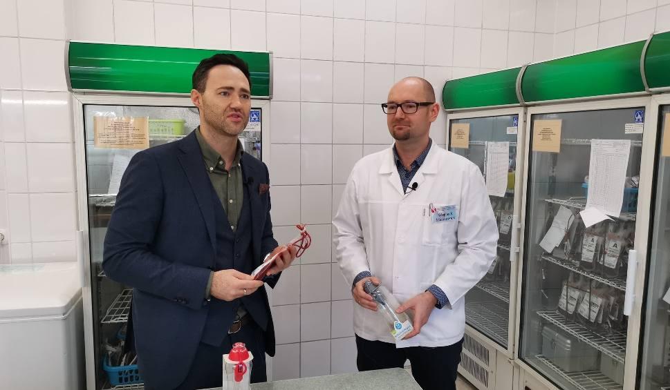 """Film do artykułu: Sukces akcji """"Podziel się kroplą krwi"""" Regionalnego Centrum Krwiodawstwa i Krwiolecznictwa w Kielcach oraz kieleckiej firmy Formaster Group"""
