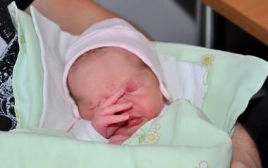 Maja jest pierwszym dzieckiem, które urodziło się w Przemyślu w 2020 roku.