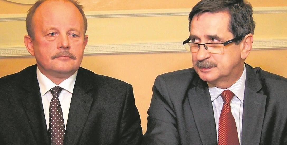 Stanisław Sorys (z lewej) nie bierze już pod uwagę rywalizacji z Romanem Ciepielą ( z prawej)