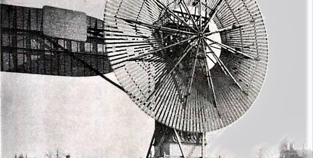 Tak wyglądały pierwsze eksperymentalne turbiny wiatrowe, wytwarzające ekologicznie prąd.