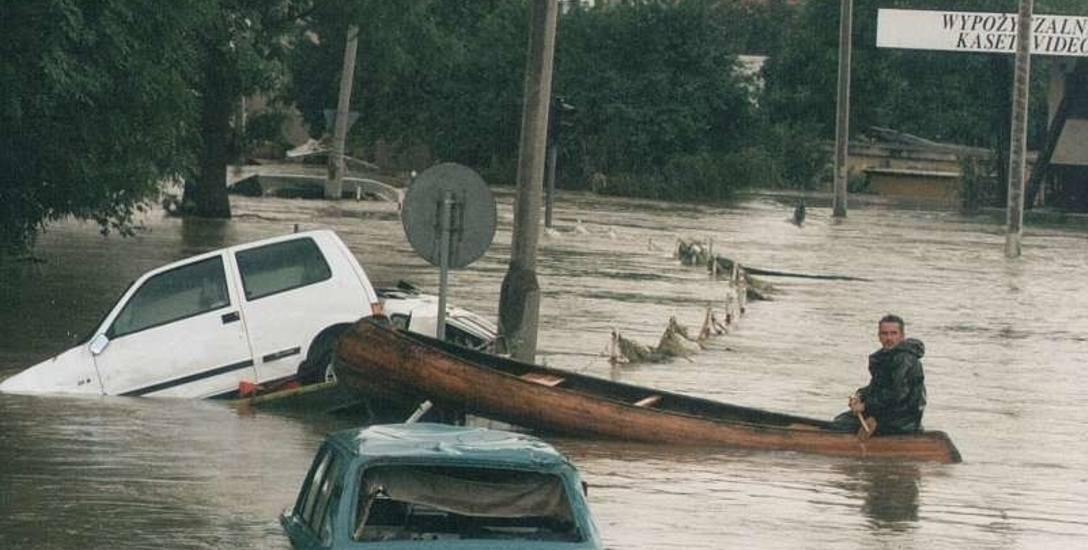 Lipiec 1997. Powódź w Opolu.