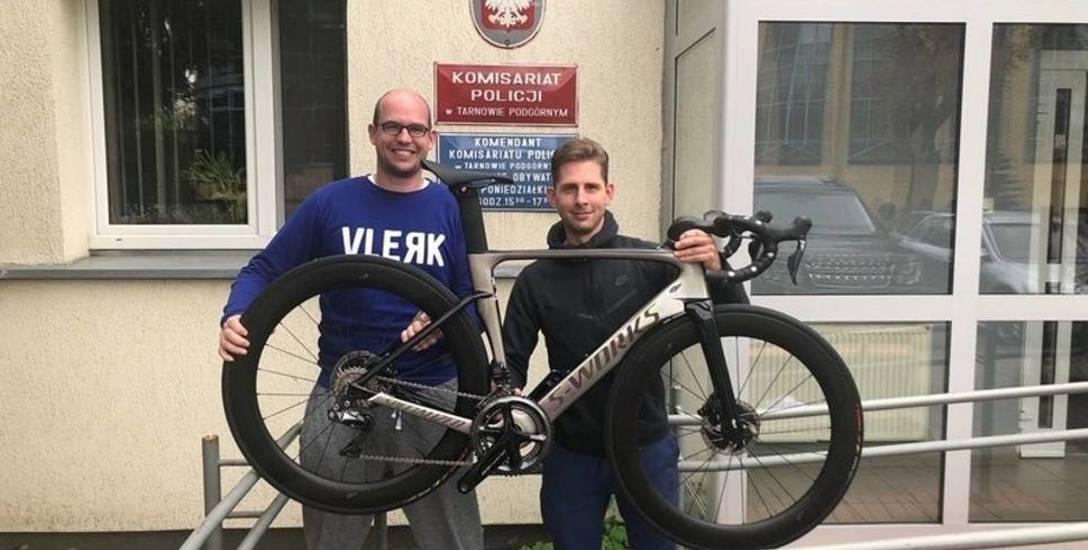 Chłopak, któremu ukradziono rower, odzyskał go we wrześniu 2018 roku.
