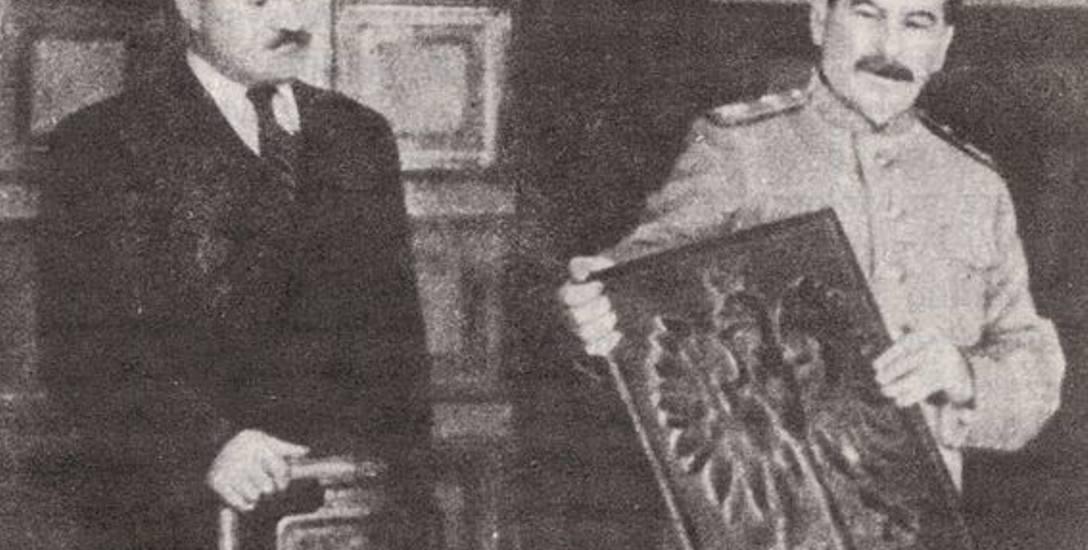 Stalin i herb Rzeczypospolitej Polskiej