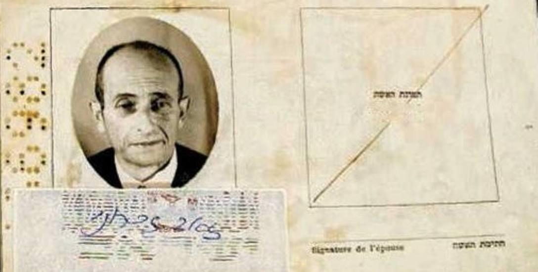 Tak wyglądał fałszywy paszport, jakim posługiwał się Adolf Eichmann, gdy uciekał z Niemiec do Argentyny. Pikanterii sprawie dodaje to, że ten zbrodniarz