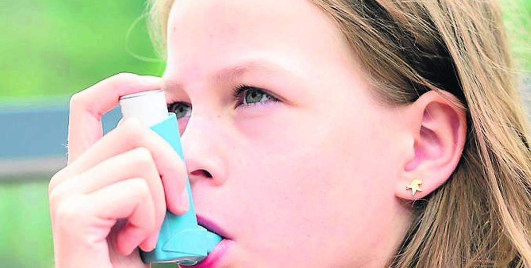 Leki na astmę najczęściej podawane są za pomocą inhalatora