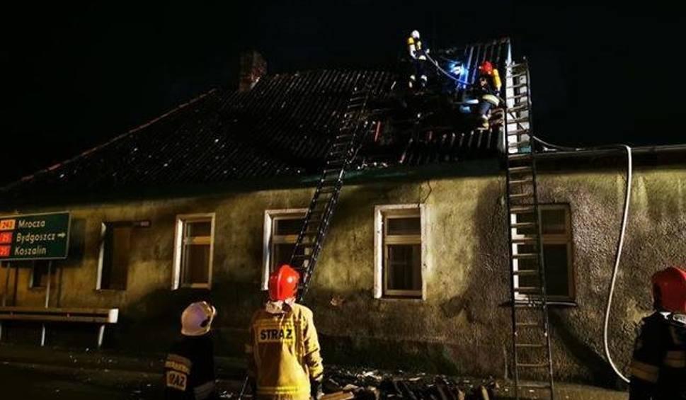Film do artykułu: Tragedia w Koronowie. Mężczyzna zginął w pożarze mieszkania