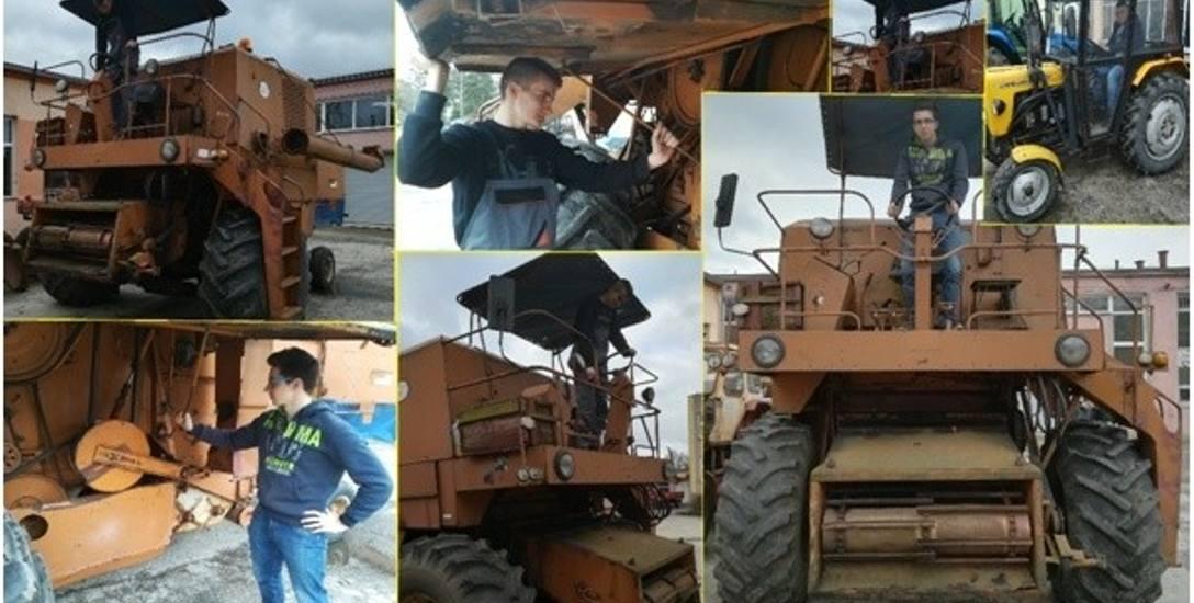 Szkoły w Bielicach kształcą m.in. w zakresie mechanizacji rolnictwa