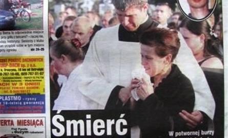 Okładka Tygodnika Ostrołęckiego z 28 sierpnia 2007 r. była poświęcona tragicznie zmarłemu Rafałowi.