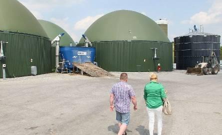 Byliśmy na terenie biogazowni. Łukasz Bartos, zapewnił, że niebawem w zakładzie zostaną założone filtry.