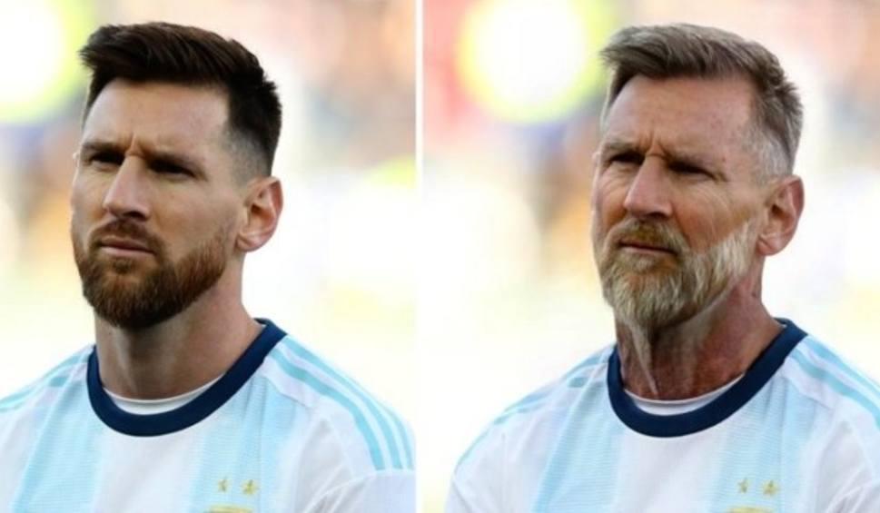 Film do artykułu: Jak będą wyglądali znani piłkarze na emeryturze? Pozwala sprawdzić to aplikacja