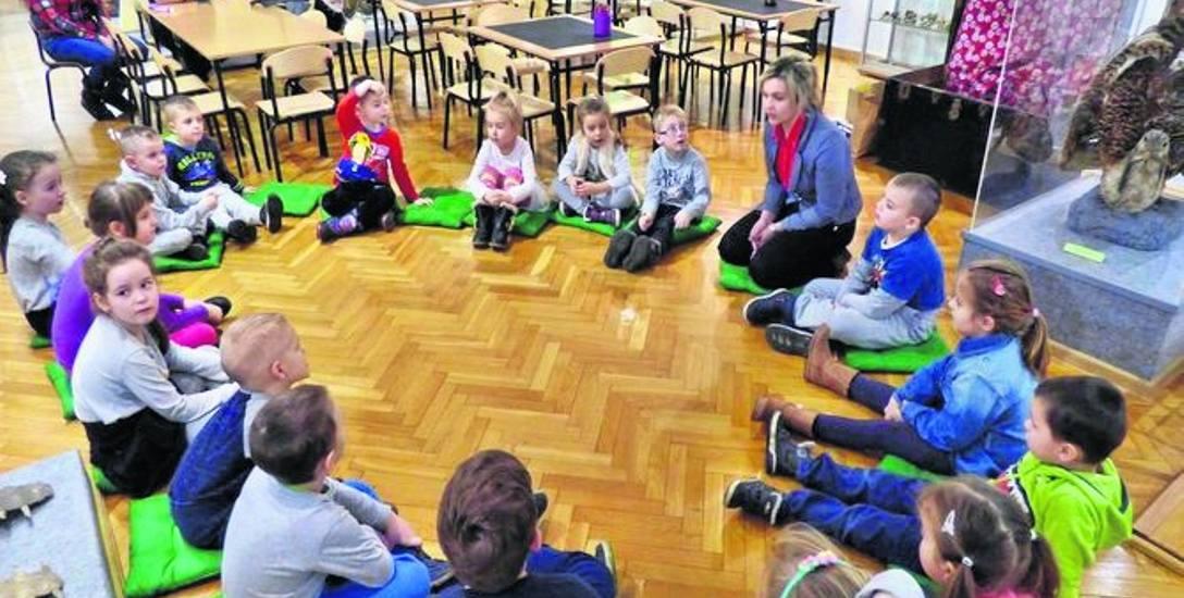 Dzieci z publicznego przedszkola nr 8 w Muzeum Miejskim w ubiegłym tygodniu skorzystały z bogatej oferty muzealnej