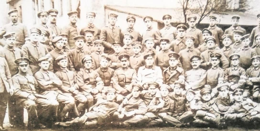 2 kompania Grenzschutzu z Bydgoszczy, 1919 rok.