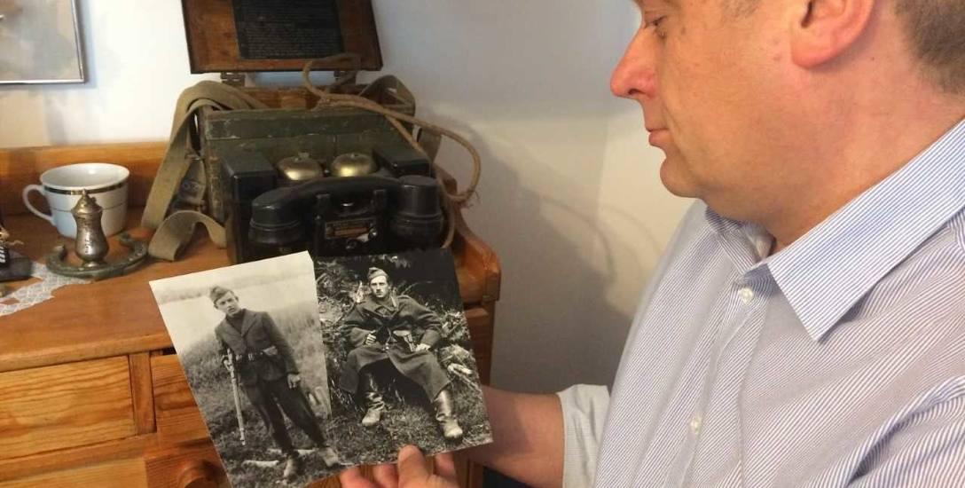 Marek Knoblauch prezentuje fotografie dwóch żołnierzy antykomunistycznego podziemia. Autor zdjęcia już nie żyje. Czy uda się ustalić tożsamość sfoto