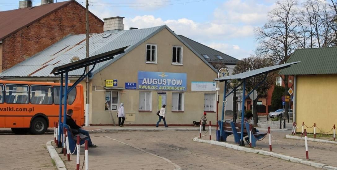Dworzec PKS w Augustowie
