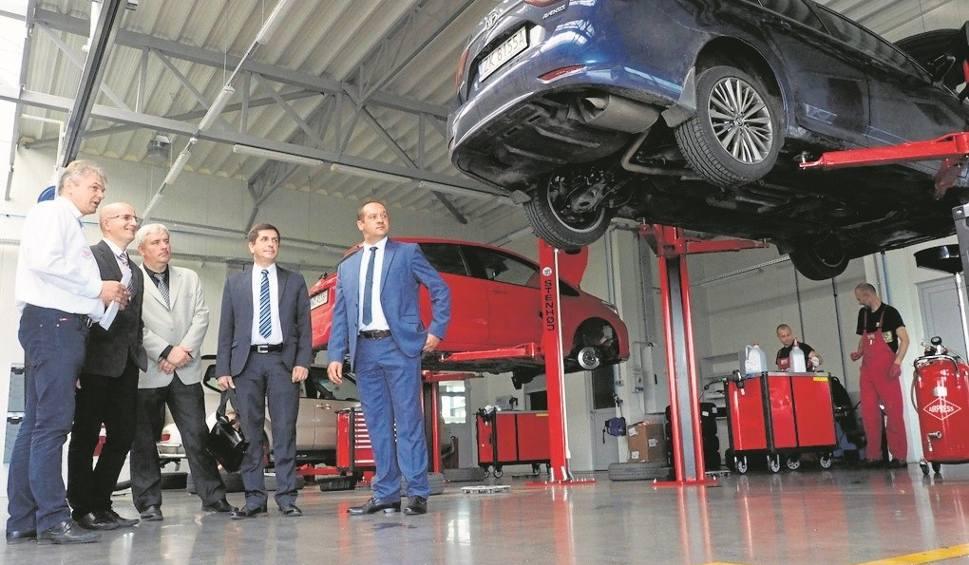 Film do artykułu: Koszalińska samochodówka nauczy się w Toyocie