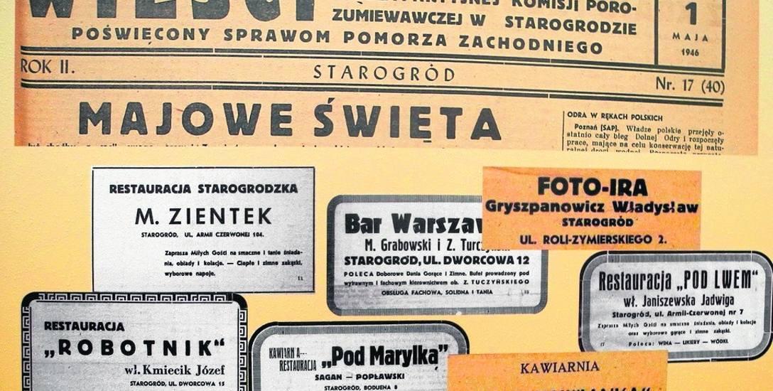 Tworzyli pocztę, pisali Wieści. Pionierzy Stargardu byli twórcami polskiego Starogrodu