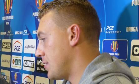 Maciej Gostomski zaliczył bardzo dobry występ w Pucharze Polski, w meczu Korony z Wisłą.
